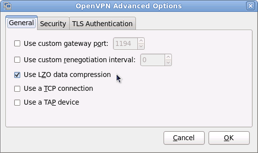Screenshot-OpenVPN Advanced Options